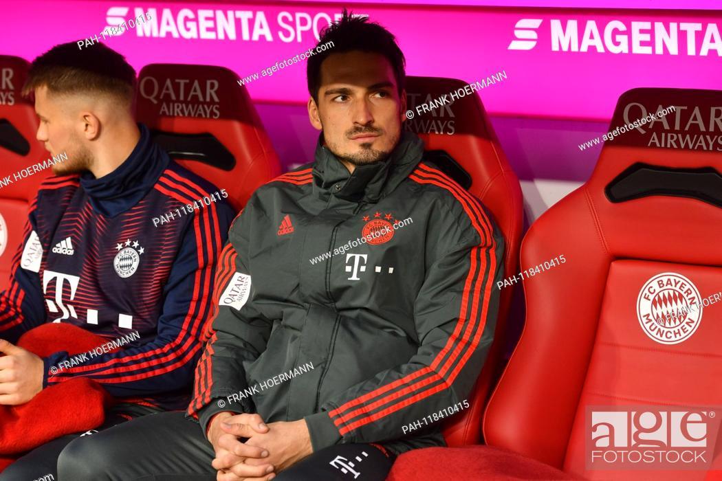 Mats HUMMELS (FC Bayern Munich), reserve bench, substitute