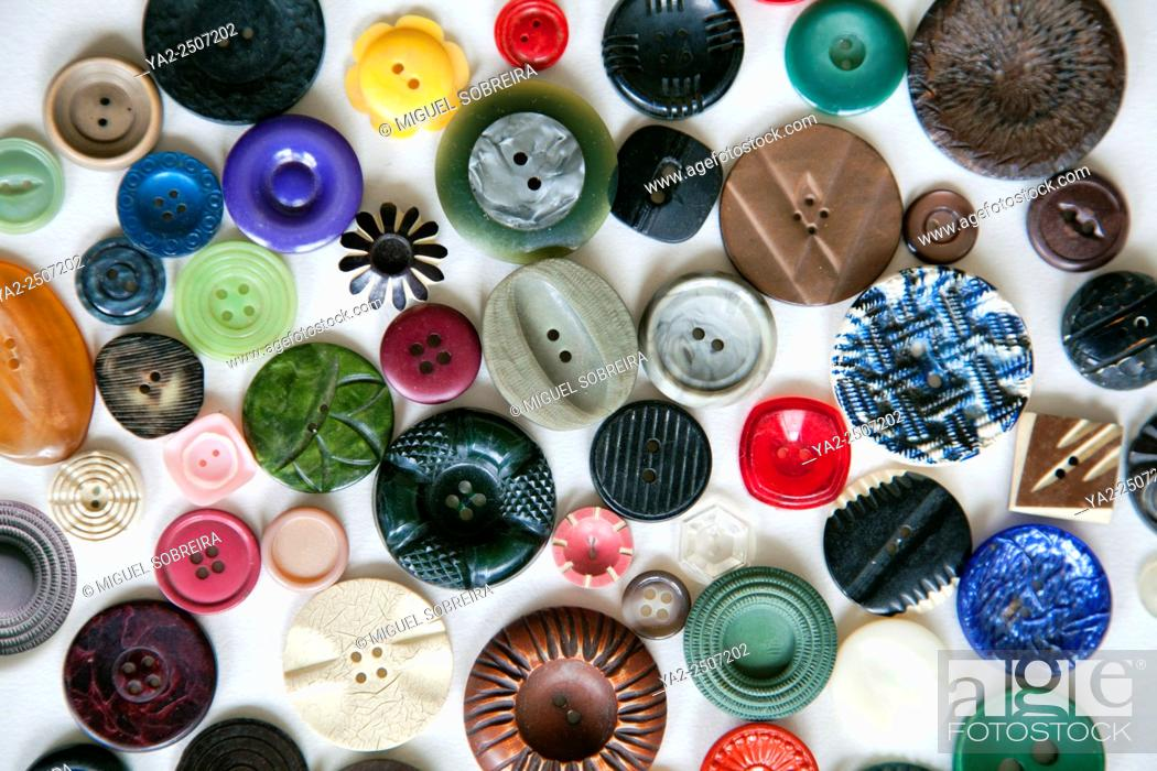 Stock Photo: Loose Buttons.