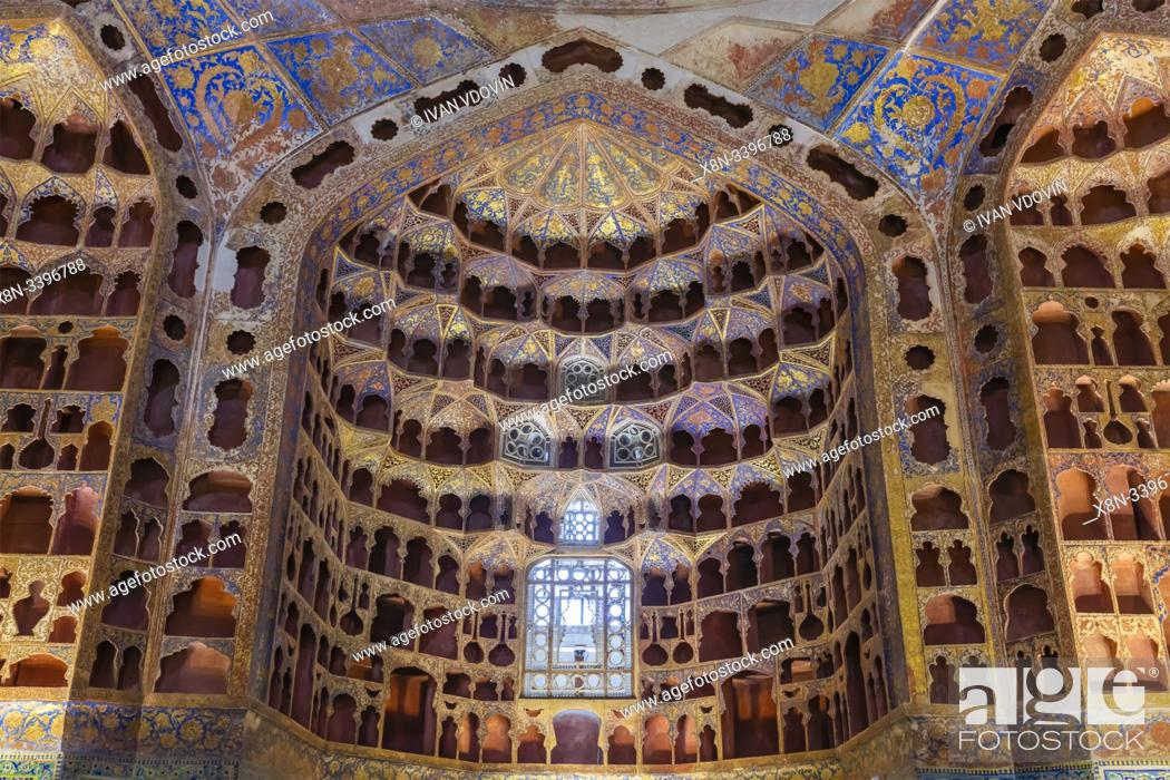 Stock Photo: Chini khaneh, house of chinaware, Sheikh Safi-ad-din Ardabili complex, Ardabil, Ardabil Province, Iran.