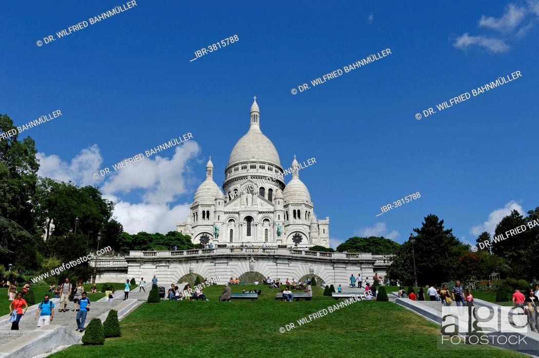 Photo de stock: Sacré-Coeur, Montmartre, Paris, France.