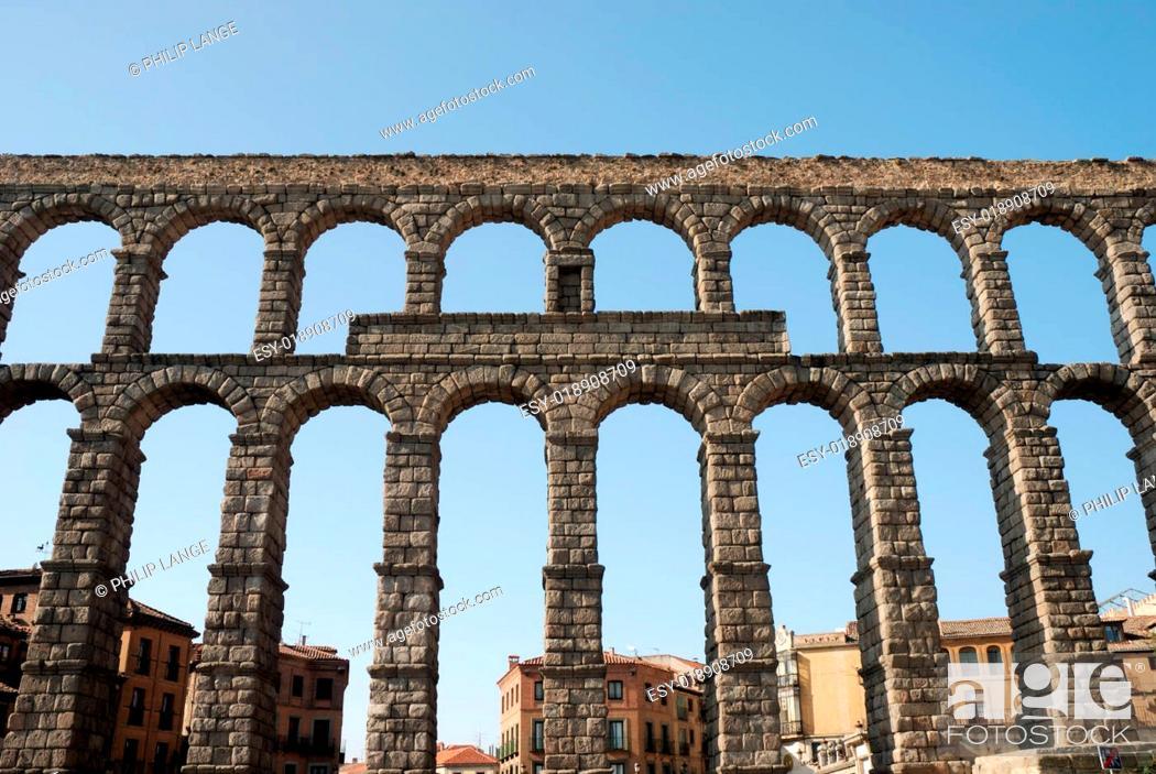 Imagen: Römisches Aquädukt von Segovia, Spanien.