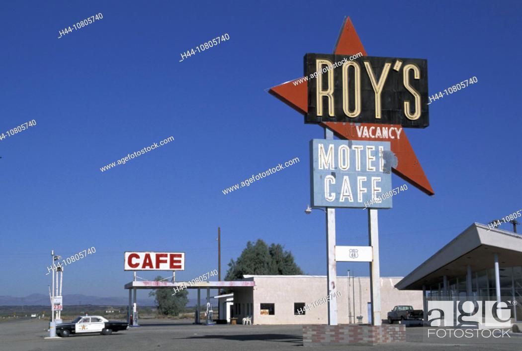 California Mojave Desert Old Route 66 Roys Restaurant Motel Cafe