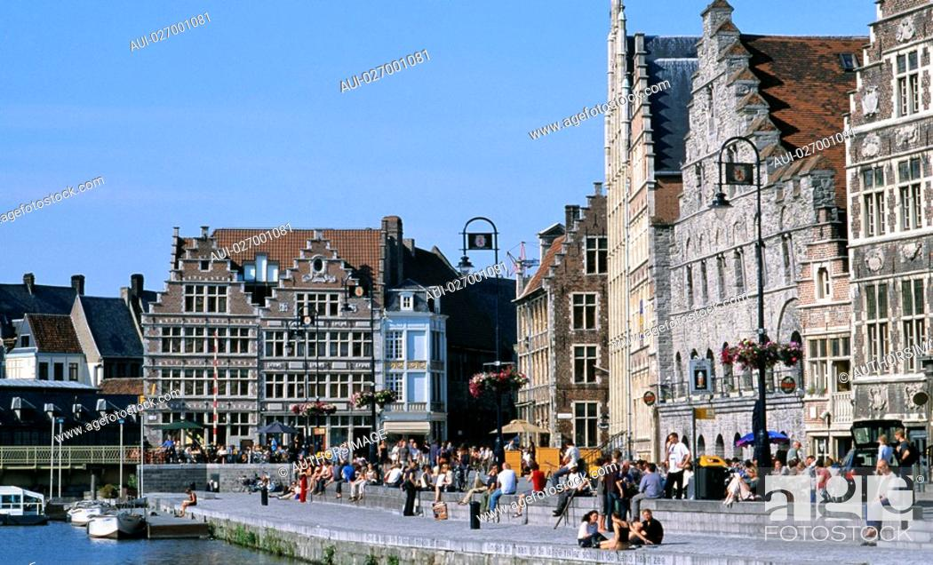 Stock Photo: Belgium - Flanders - Gand.