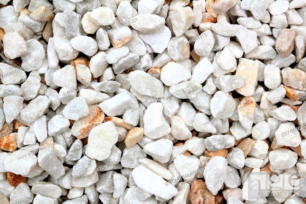 Stock Photo: decorative white marble stone pattern.