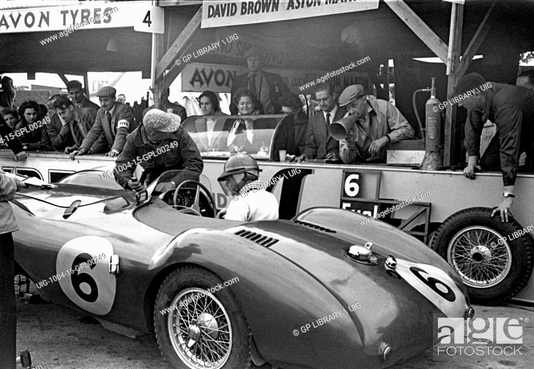 Pat Griffiths And Peter Collins Aston Martin Db3s One Of The David