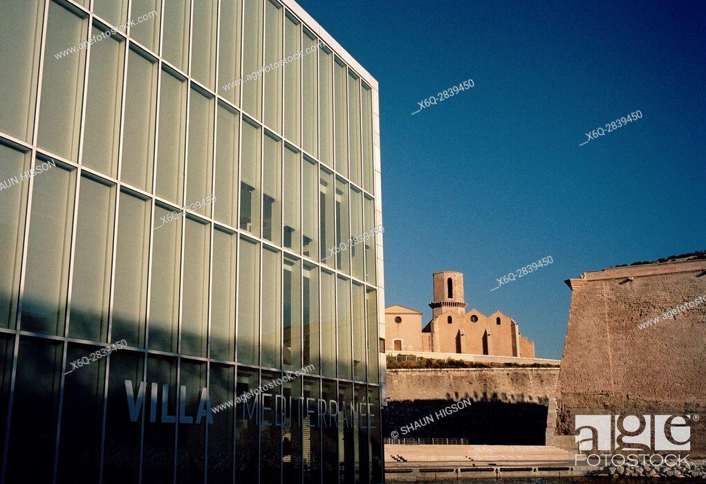 Imagen: Villa Mediterranee in Marseille in Provence in Bouches du Rhone in France in Europe. Architect Stefano Boeri.