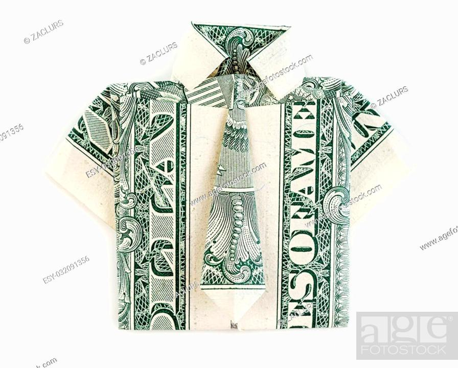 Origami Shirt Tutorial - Make an Origami Shirt and Tie | The ... | 699x870