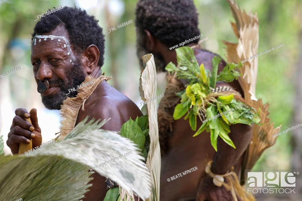 Primitive People Nendo Santa Cruz Island Solomon Islands