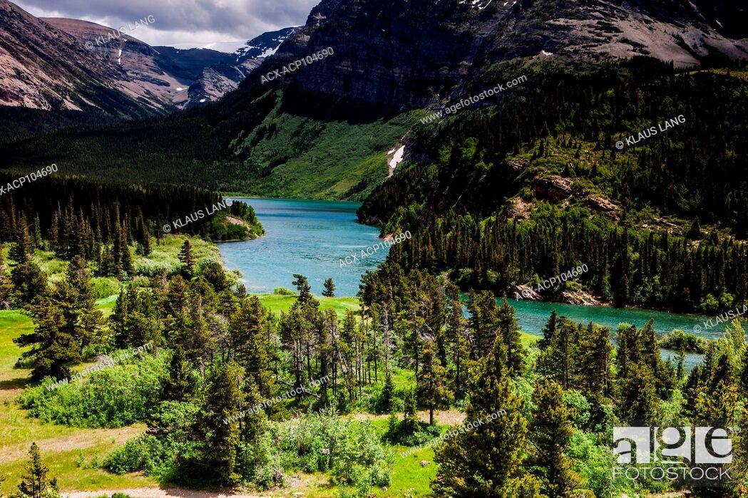 Imagen: Glacier National Park, Montana, USA.
