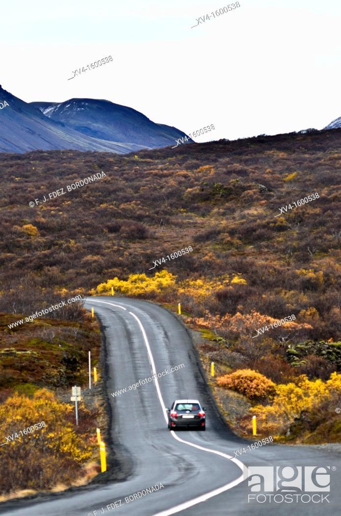 Stock Photo: Pingvellir National Park  Iceland.