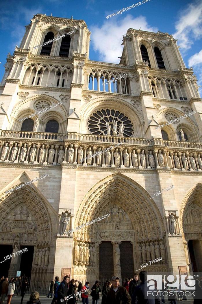 Stock Photo: París - Notre Dame.