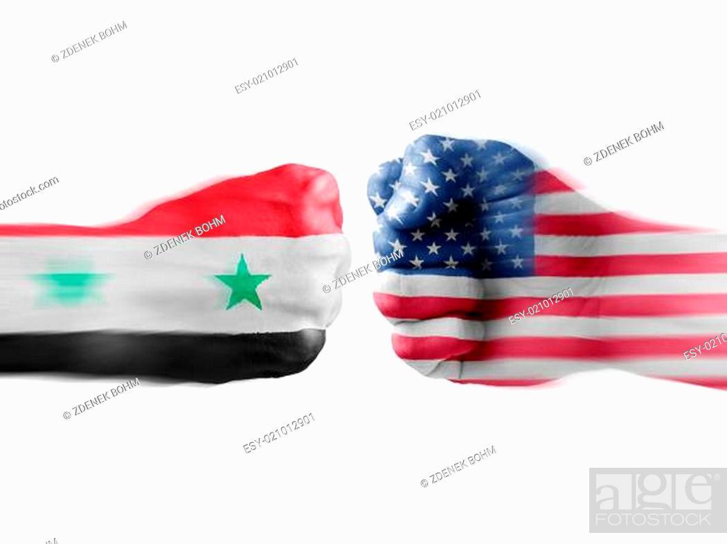 Imagen: USA x Syria.