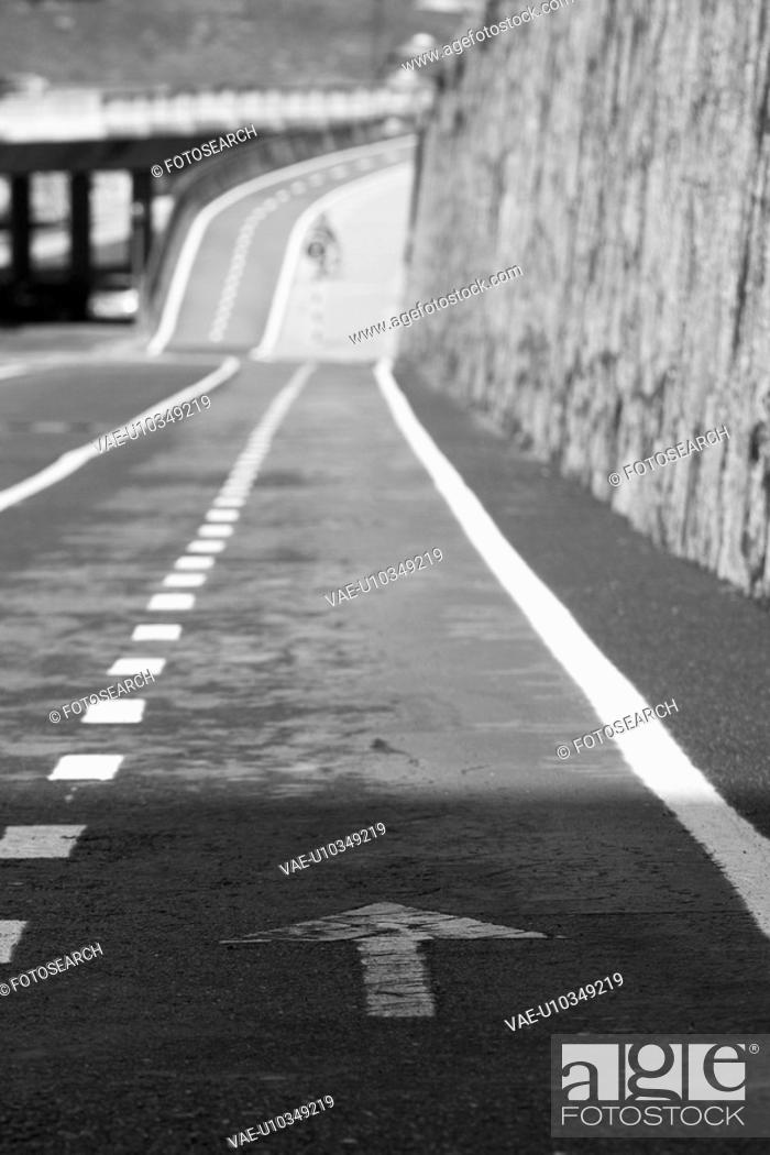 Stock Photo: street, outdoors, way, path, road, structure.
