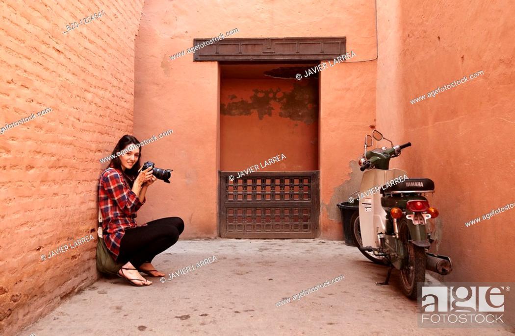 Stock Photo: Saadian Tombs, Medina de Marrakech, Marruecos.
