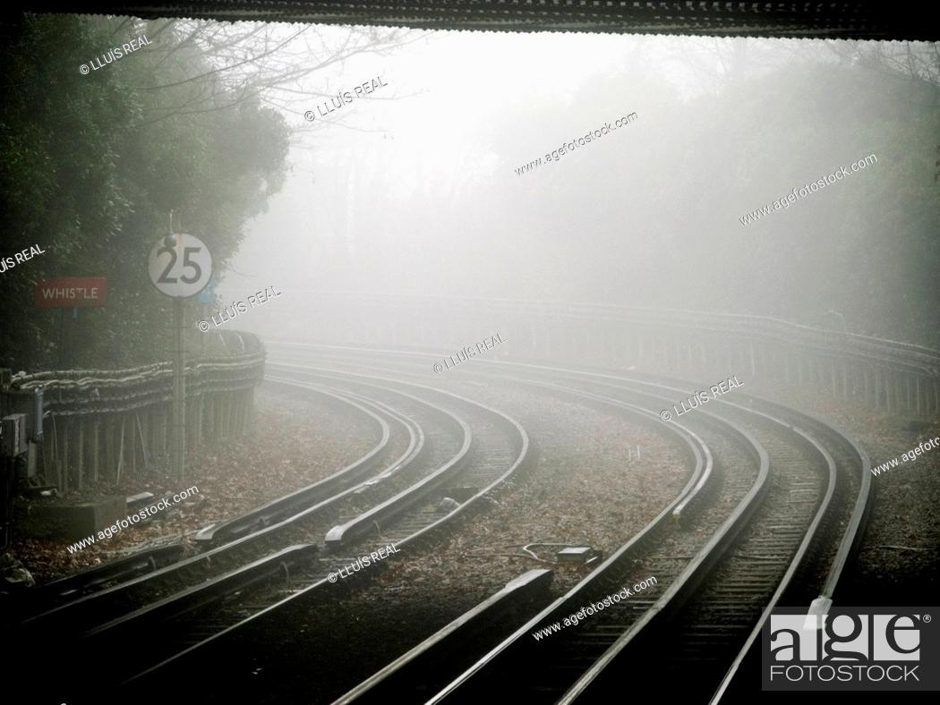 Stock Photo: Railroad.