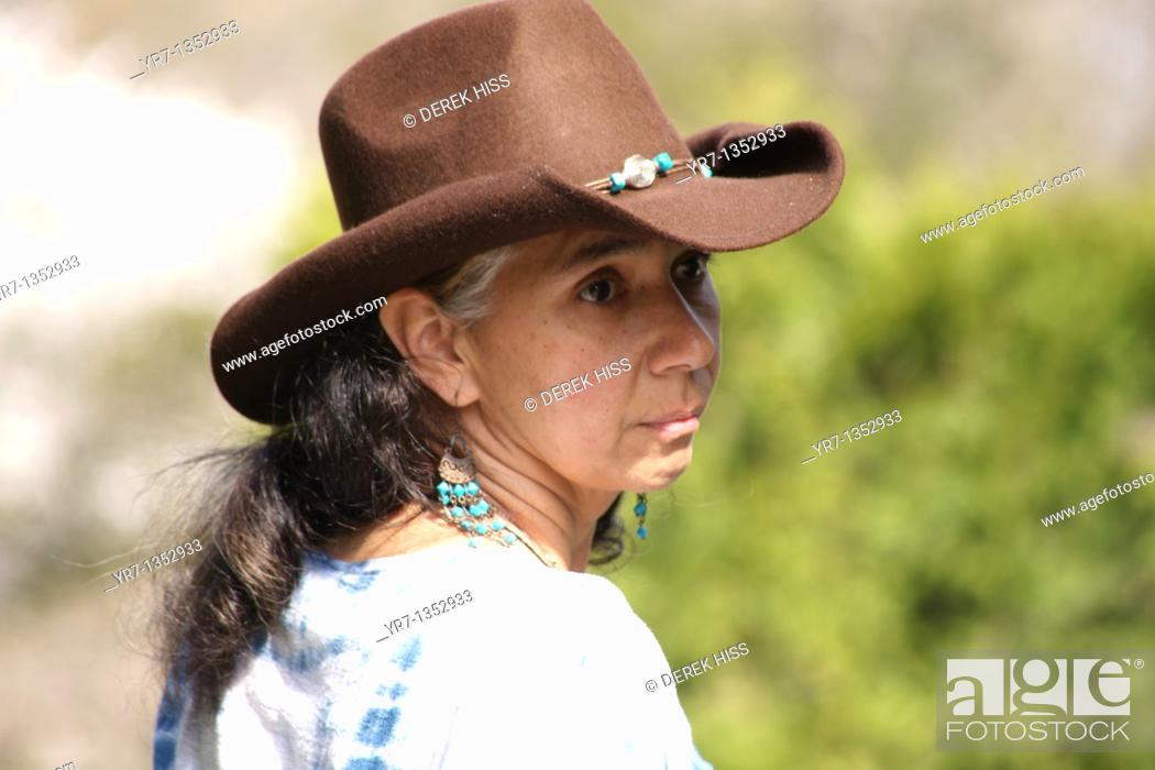 Stock Photo: Cowgirl.