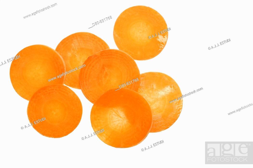 Stock Photo: Carrot.