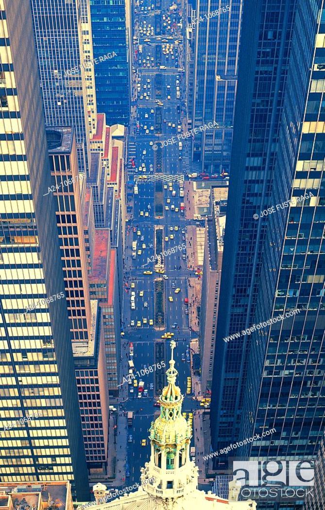 Stock Photo: Park Avenue, NYC, USA.
