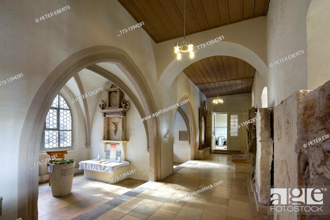 Stock Photo: Georgskapelle, St. Gumbertus, Ansbach, Germany.