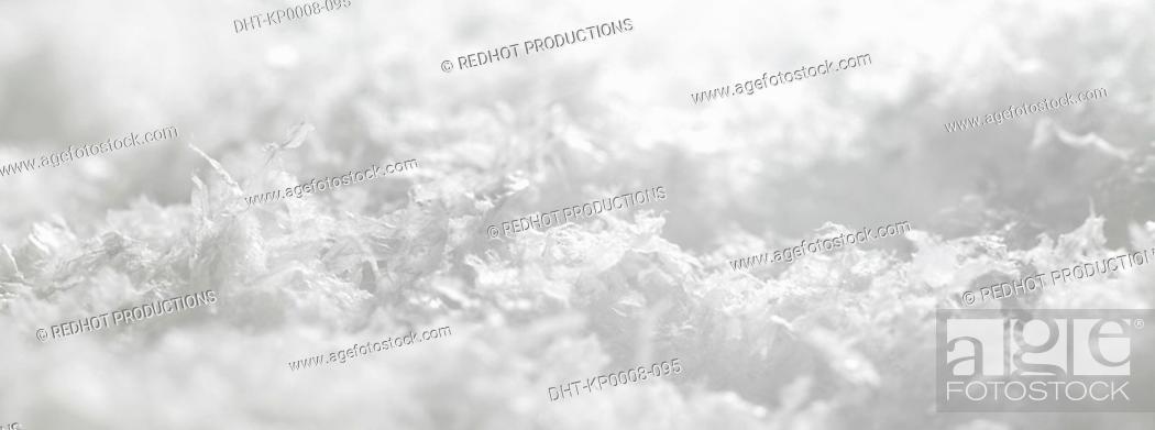 Stock Photo: Snow.