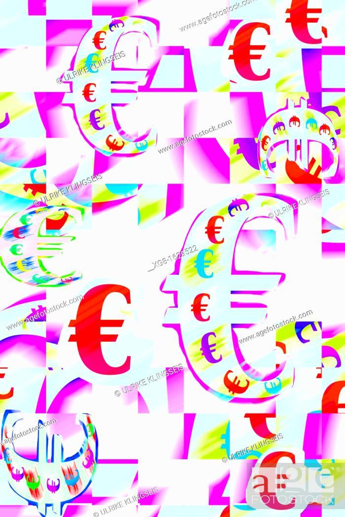 Stock Photo: euro-sign.
