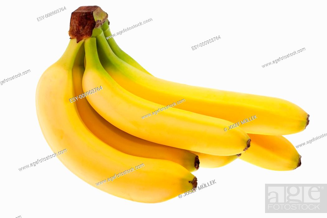Stock Photo: Bananen.