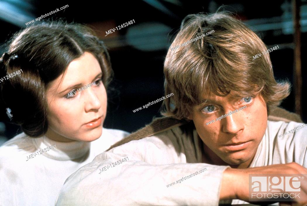 Carrie Fisher Mark Hamill Film Star Wars Star Wars Episode Iv A New Hope Usa 1977 Neuer Stock Photo Picture And Rights Managed Image Pic Mev 12453481 Agefotostock