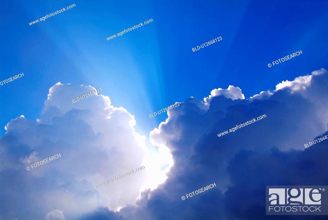 Stock Photo: Beam of light.