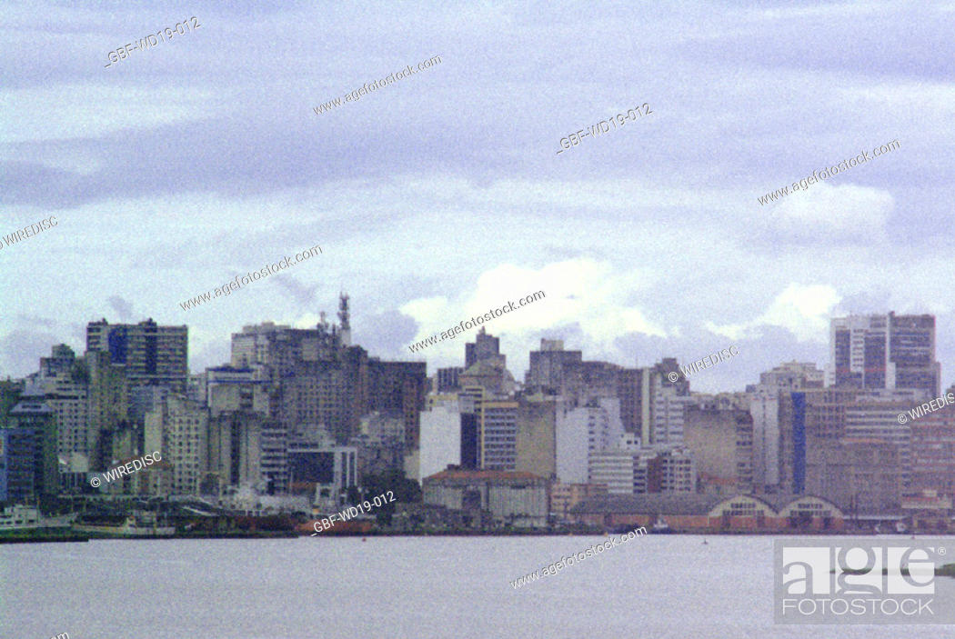 Stock Photo: City, Porto Alegre, Rio Grande do Sul, Brazil.