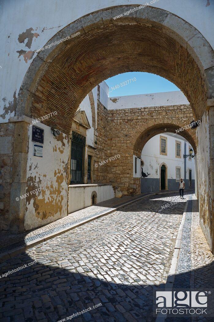 Stock Photo: Faro, Algarve, Portugal, Europe.