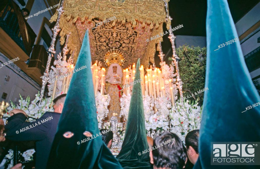 Stock Photo: Holy Week. Sevilla. Spain.