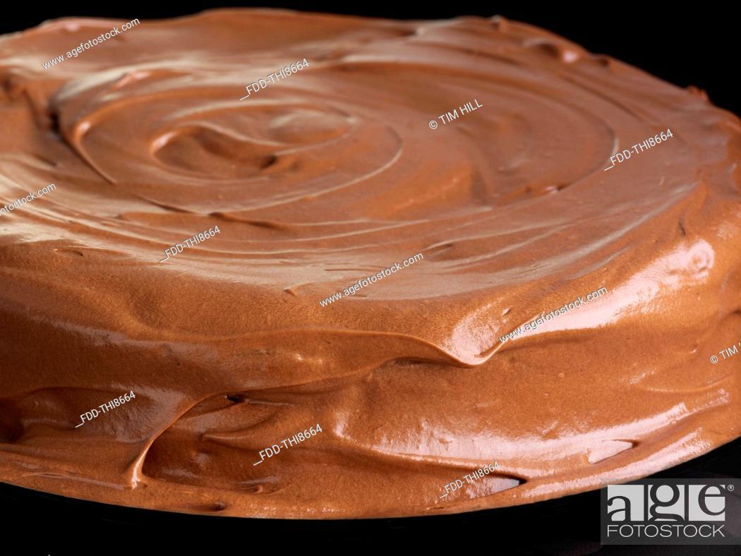 Imagen: Chocolate fudge cake.