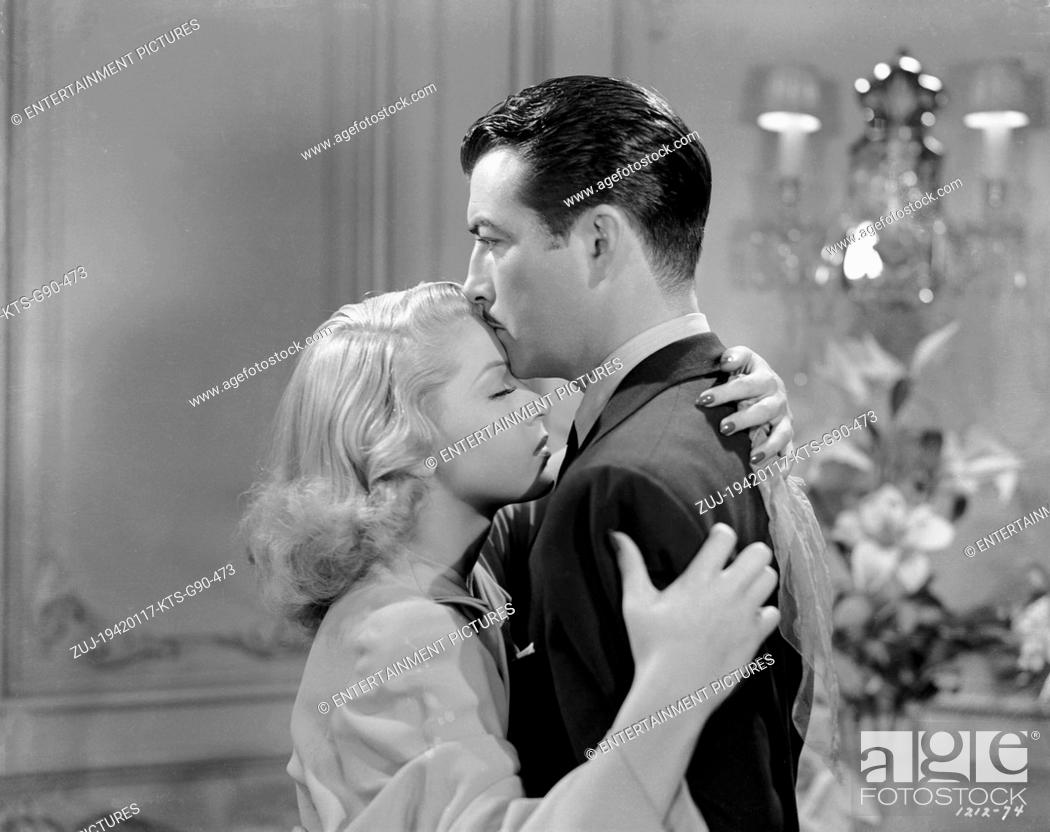 Stock Photo: RELEASED: Jan 17, 1942 - Original Film Title: Johnny Eager. PICTURED: ROBERT TAYLOR, LANA TURNER. (Credit Image: © Entertainment Pictures/Entertainment.