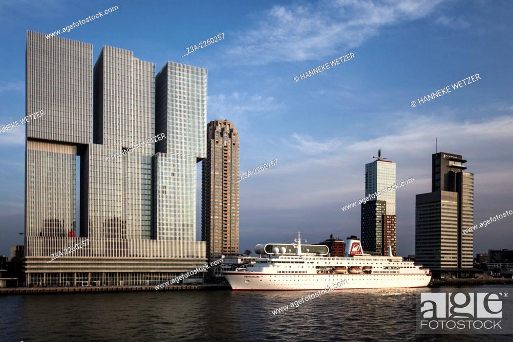 Imagen: Rotterdam Skyline, the Netherlands.