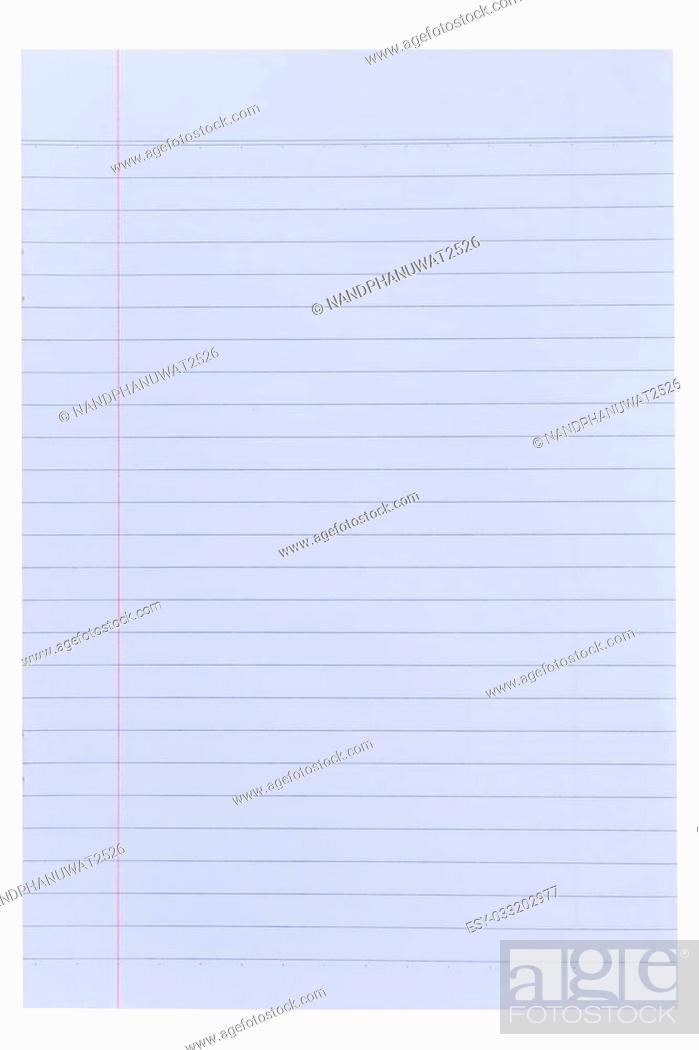 Lined Paper Background Stock Photo Picture And Low Budget