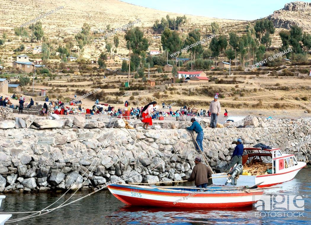 Imagen: Isla Amantani, Titicaca Lake, Lima, Peru.