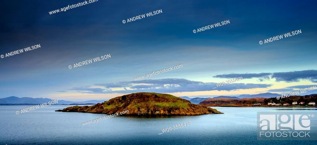Stock Photo: Maiden Island just off Oban, Scotland.