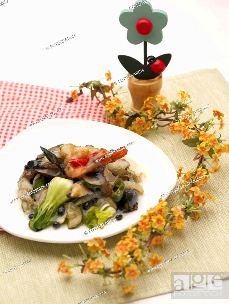 Stock Photo: Chinese, dish, dishes, dish, dishes, Chinese Cuisine, Food styling.