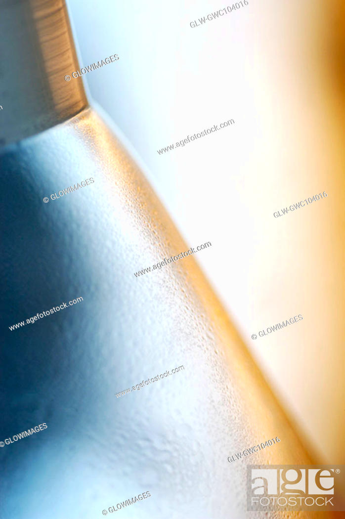 Stock Photo: Close-up of a beaker.