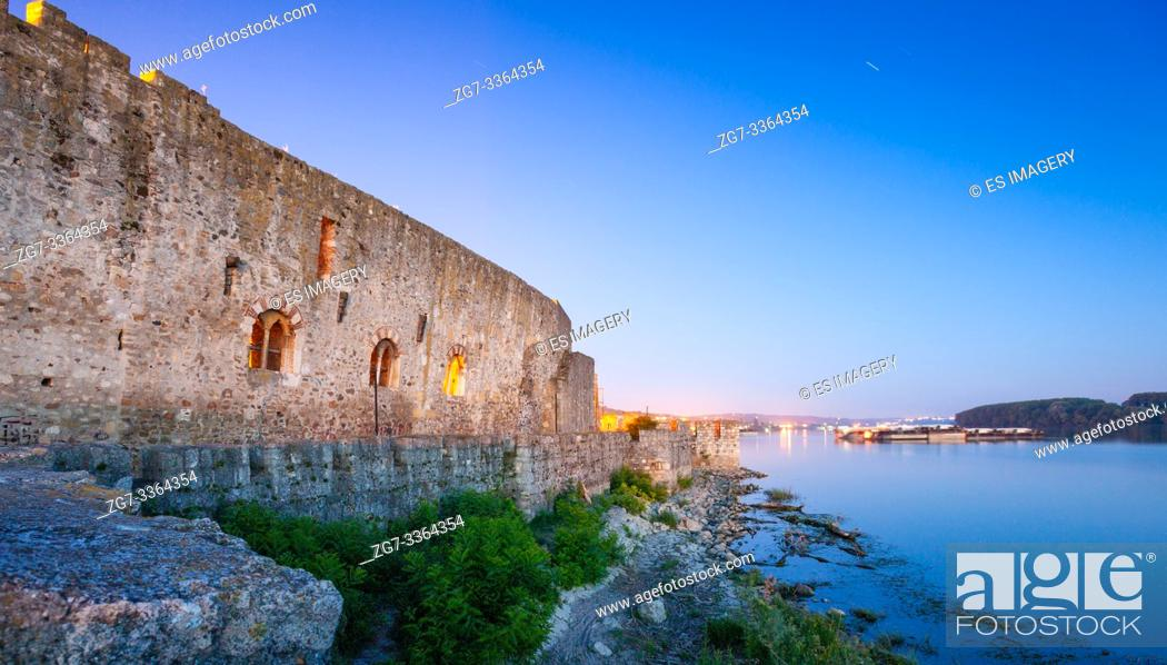 Stock Photo: Citadel of the Despot Djuradj in Smederevo Fortress, one of the largest fortifications in Serbia.