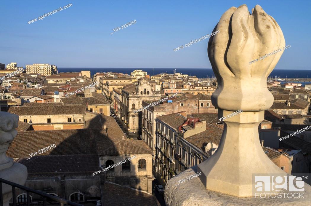 Stock Photo: Catania, Sicily, Italy.