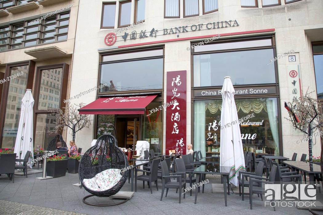Sonne Chinese Restaurant And The Bank Of China Leipziger Platz