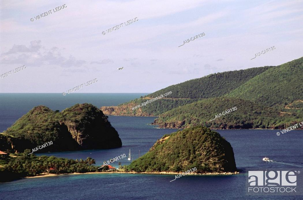 Stock Photo: French Caribbean - Caribbean Islands - Guadeloupe - Basse Terre - Tillet Cove.