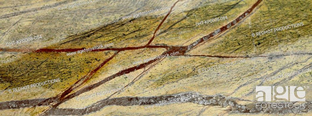 Stock Photo: Cracked marble surface.
