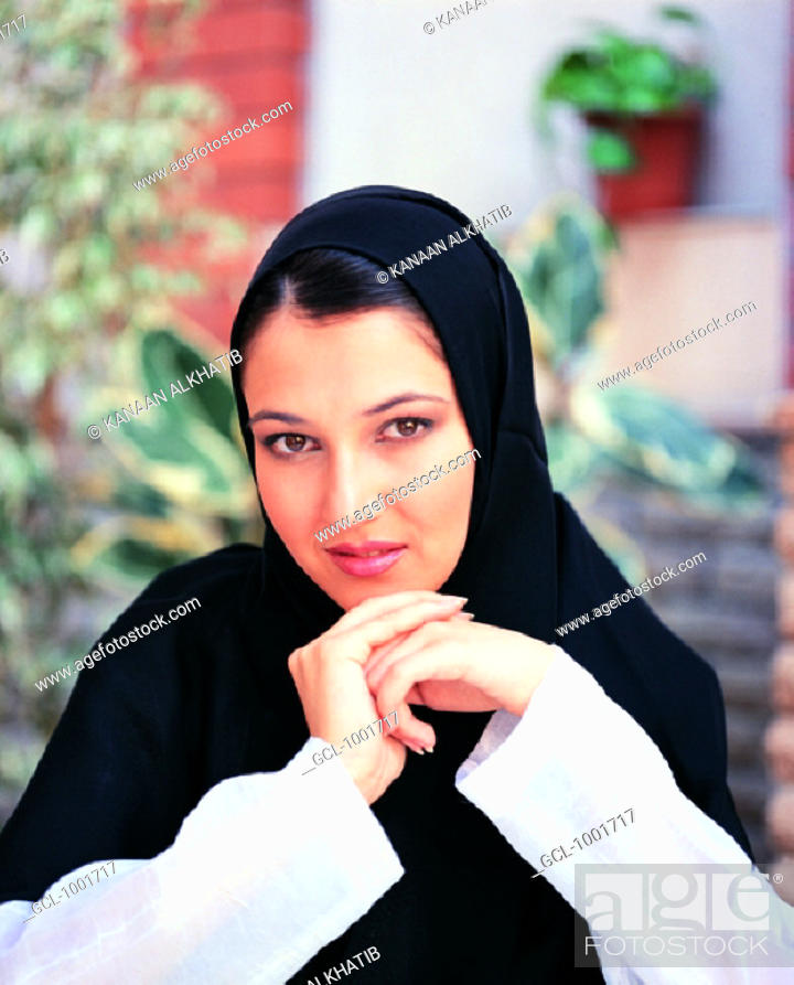 Stock Photo: Portrait of a woman.