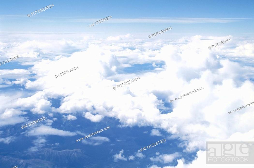 Stock Photo: The Sky.