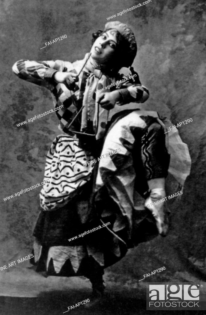 Ballet Russe Theatre De Monte-Carlo 1911 Bronislava Nijinska Ballet Poster