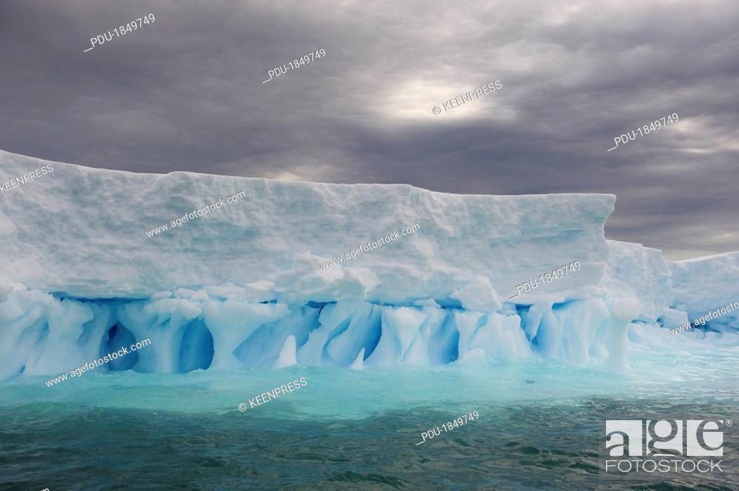 Stock Photo: Iceberg in the Gerlache Strait.