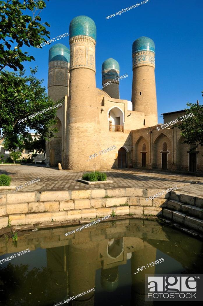 Imagen: Chor Minor mosque, Bukhara, Buchara, Silk Road, Unesco World Heritage Site, Uzbekistan, Central Asia.