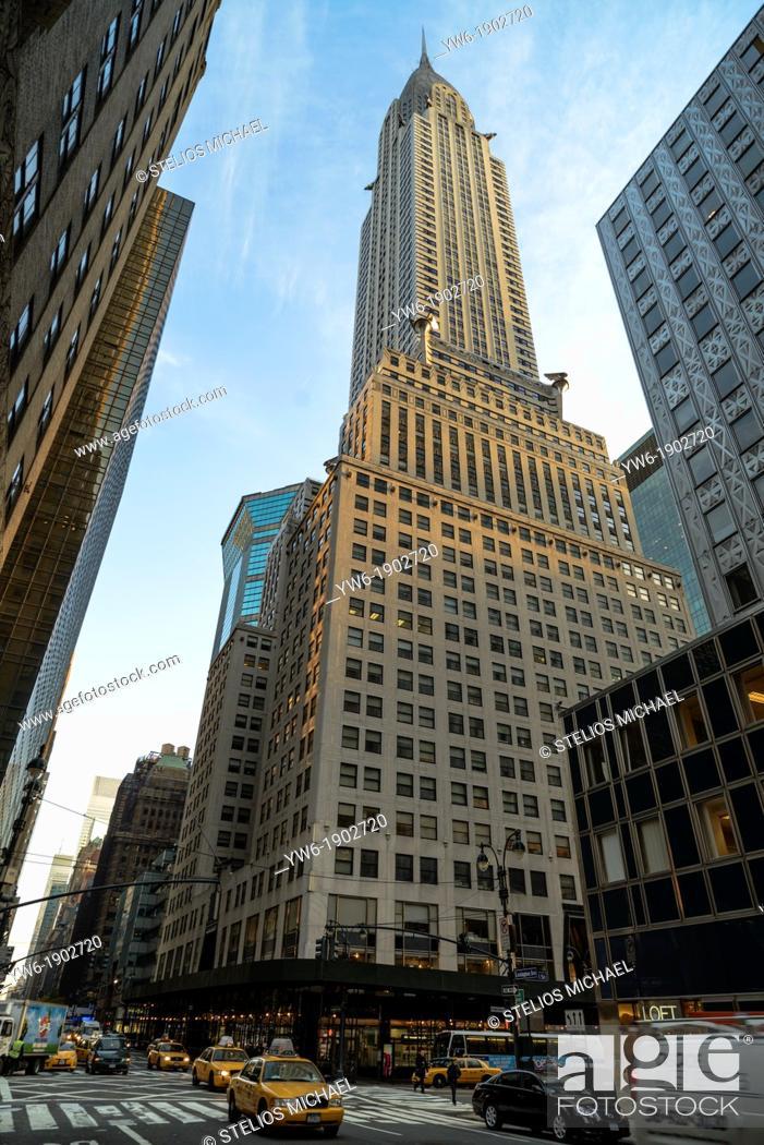 Stock Photo: Chrysler Building, New York City, USA.